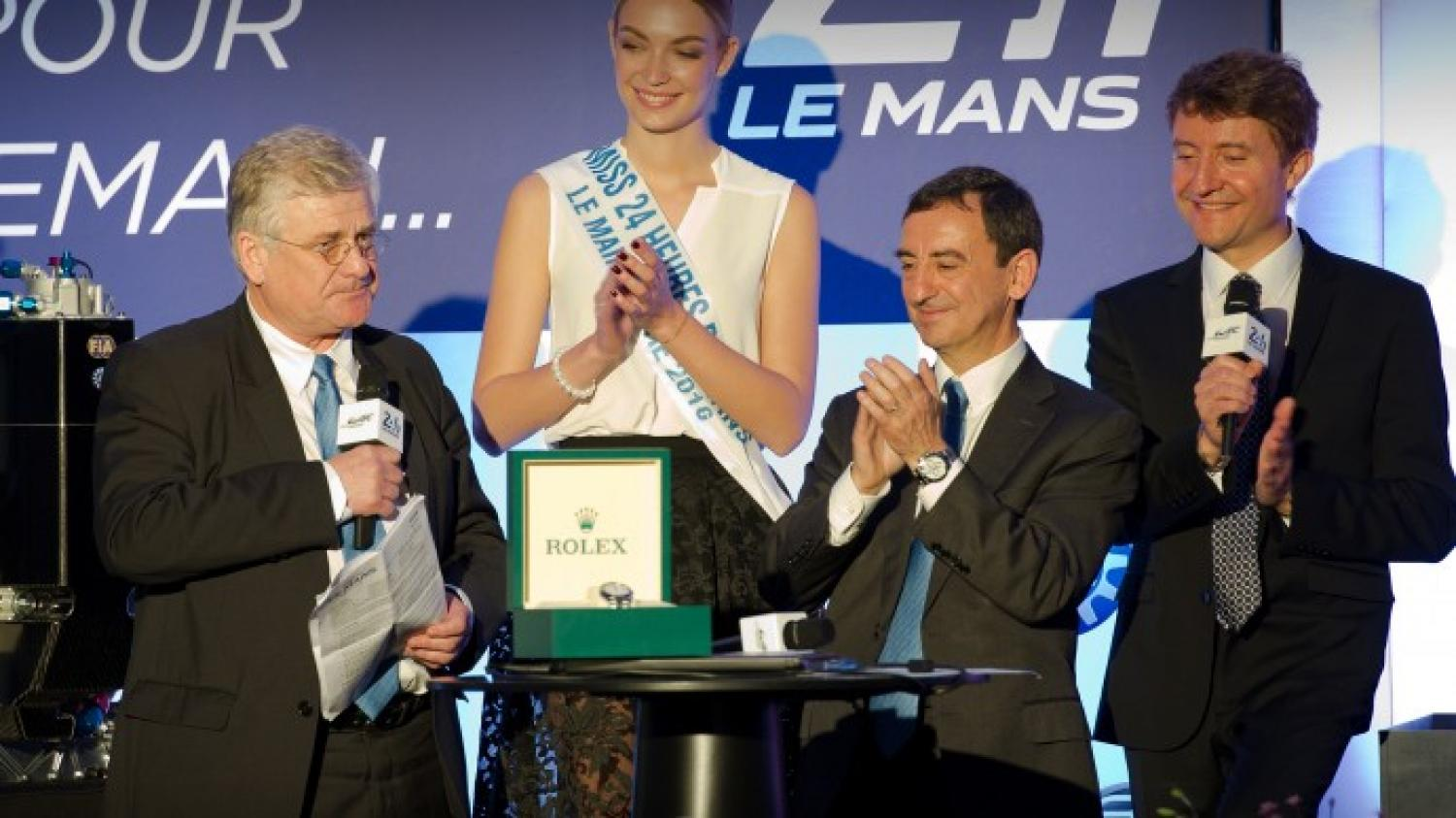 Jacques Nicolet awarded the Spirit of Le Mans trophy