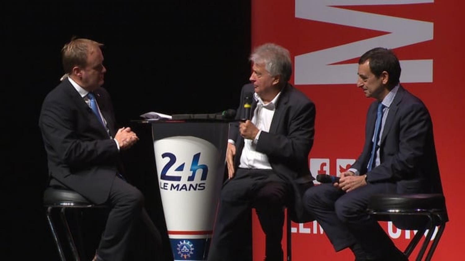 Bernard Ollivier (Alpine) talks about the new road car and Le Mans (video)