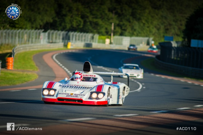 Le Mans Classic - Marco Werner takes another Le Mans win!