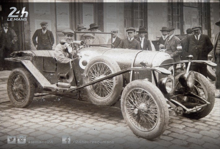 Today's Photo Story - John Duff, the first Canadian to win the 24 Hours of Le Mans in 1924