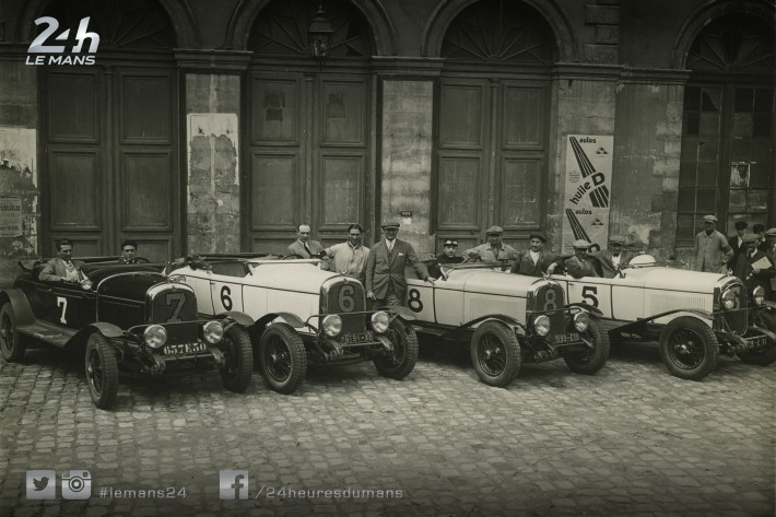 Today's Photo Story - First podium finish for Chrysler at the 24 Hours of Le Mans (1928)