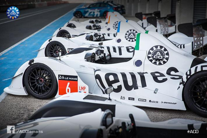 The prototypes at the Le Mans racing school given a new look