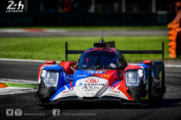 ELMS - First pole position for Graff Racing (Oreca)
