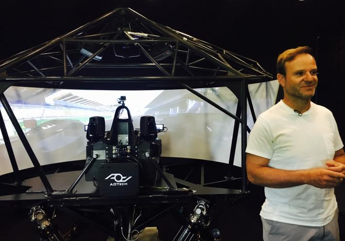 Le Mans 24 Hours - Rubens Barrichello's first rendezvous - a simulator test!