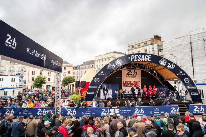 2017 Le Mans 24 Hours  - Scrutineering launches the hectic Le Mans week!