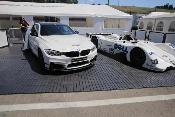 Pierluigi Martini gifted a BMW M4 in tribute to his win at the 24 Hours of Le Mans in 1999
