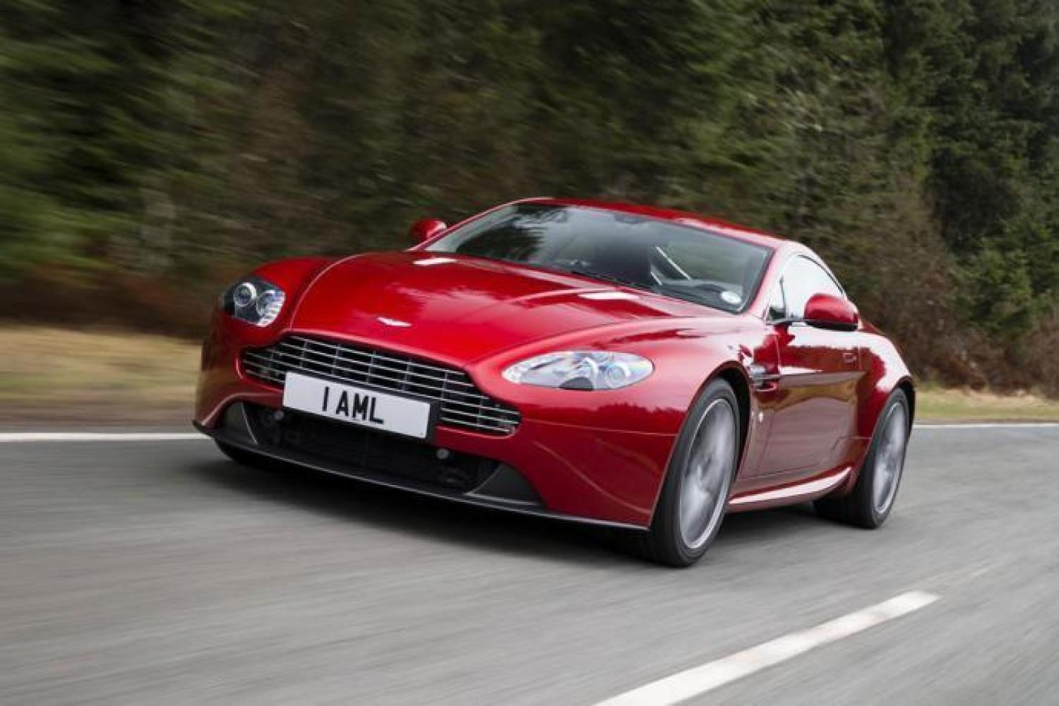 Cars Derived From The Gts Seen At Le Mans Aston Martin V8 Vantage 24h Lemans Com
