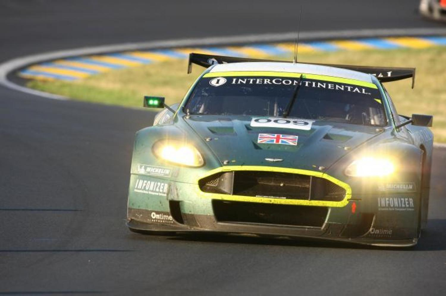 For Sale The Aston Martin Dbr9 Class Winner At Le Mans In 2007 24h Lemans Com