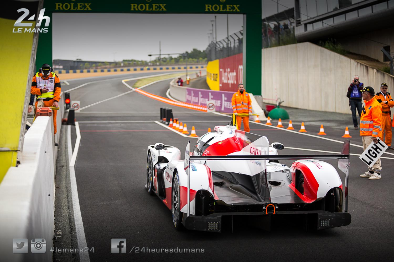 24 Hours of Le Mans - Test Day is under way