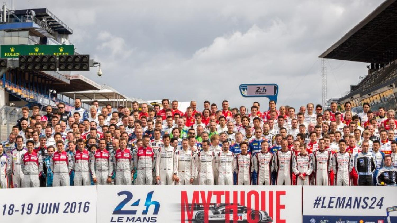 24 Hours of Le Mans: 180 starts at the start