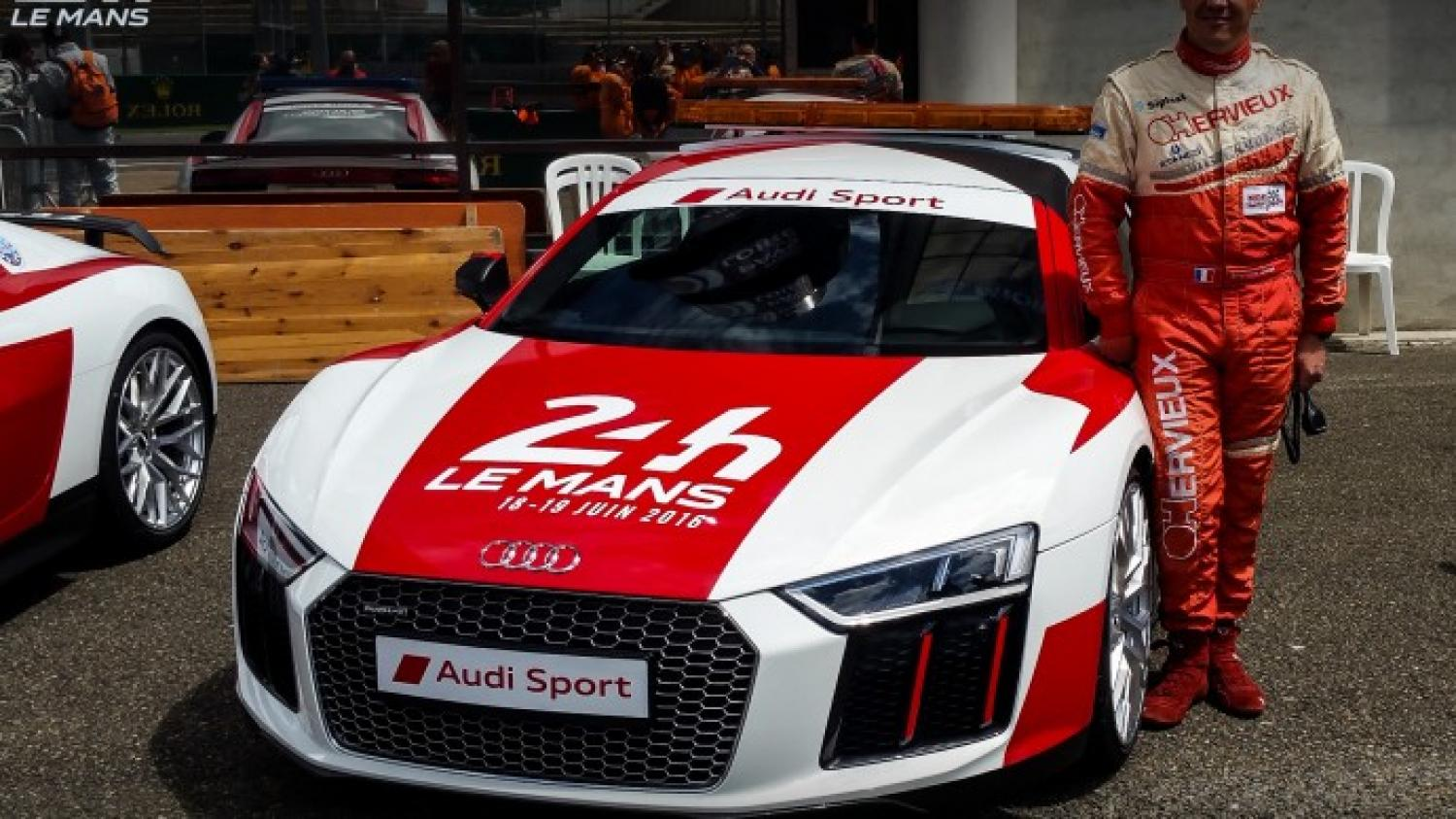 Behind the scenes with the 24 Hours of Le Mans safety cars