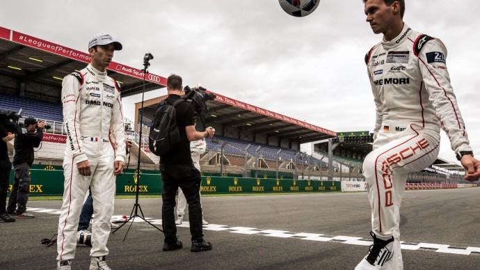 Le Mans drivers keen not to miss out on Euro 2016!