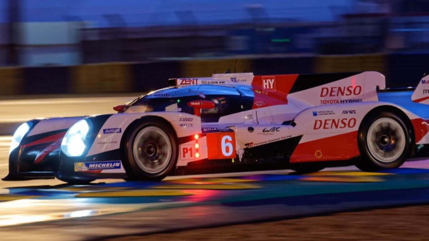 Ninth hour: Porsche and Toyota take turns in the lead