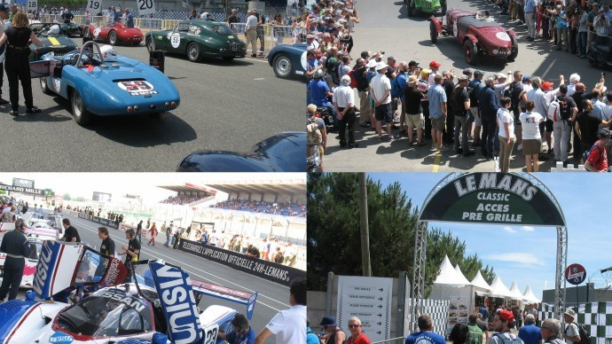 Le Mans Classic 2016 - Friday afternoon's news in brief