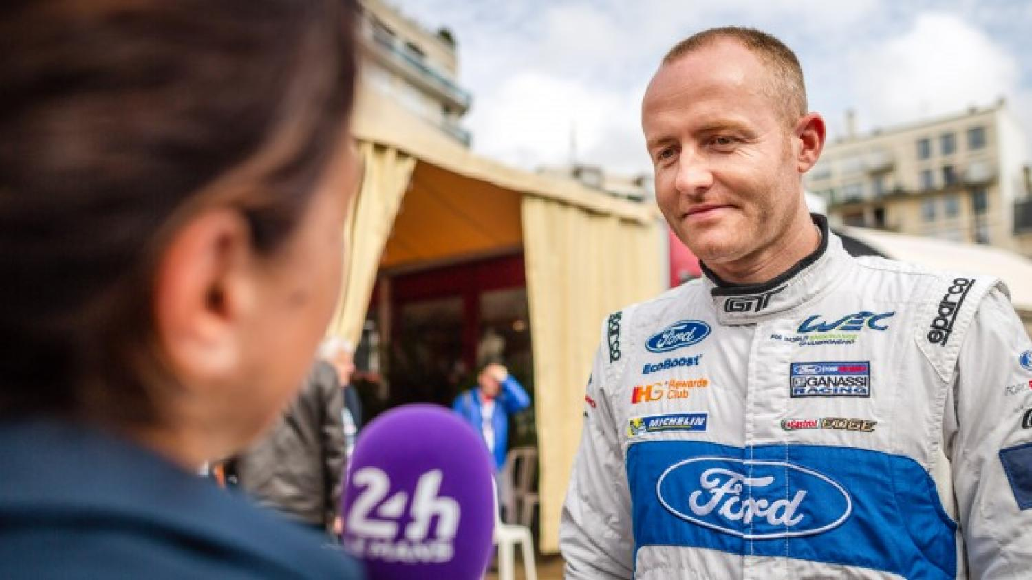 Olivier Pla (Ford) discovers Le Mans Classic