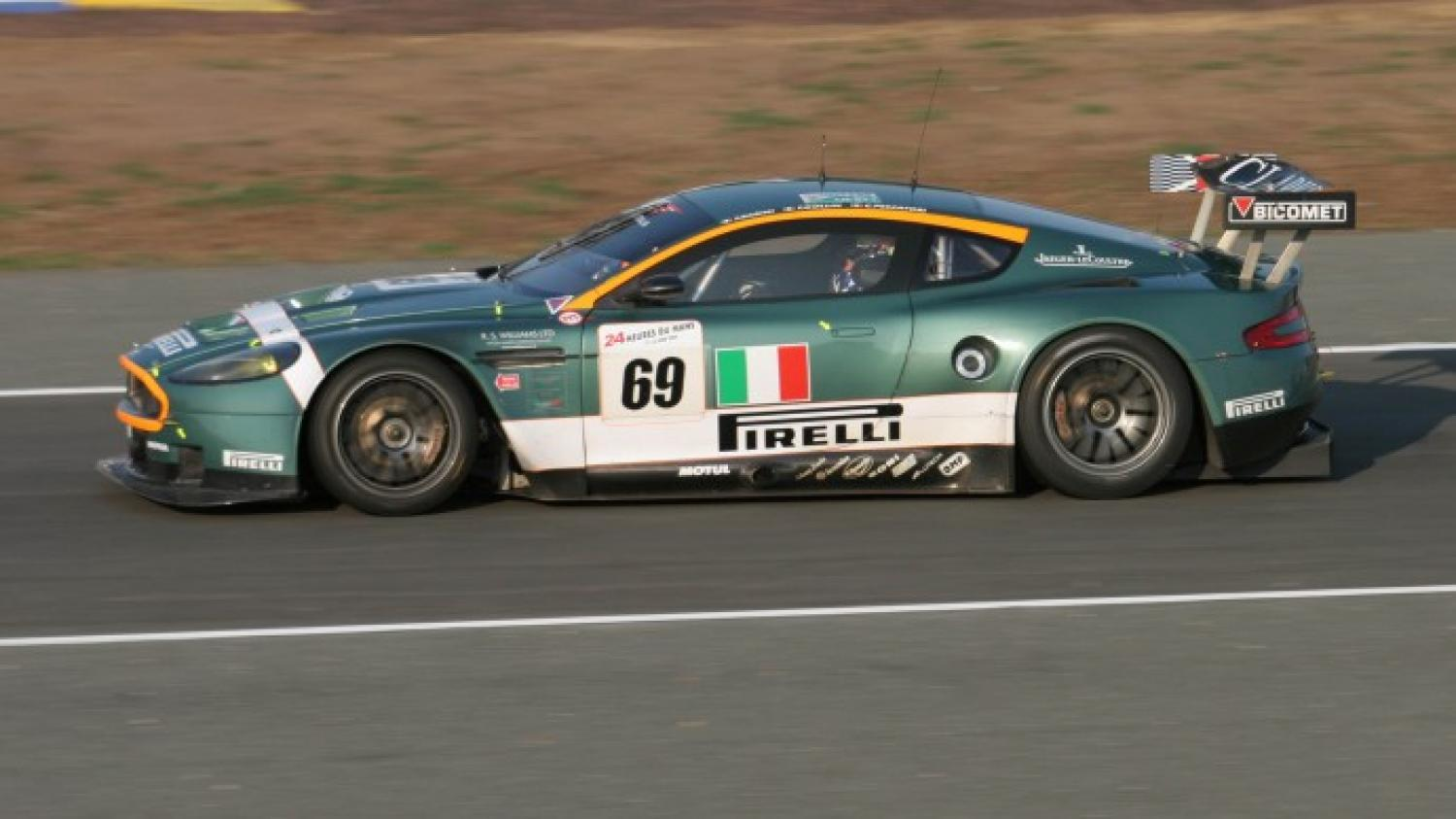 An Aston Martin Dbr9 From The 2006 And 2007 24 Hours Of Le Mans Up At Auction 24h Lemans Com