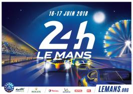 2018 Le Mans 24 Hours - Click and reveal a stylish poster!