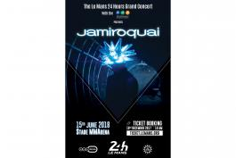 JAMIROQUAI launches the Le Mans 24 Hours Grand Concert with the MMA!-Friday 15th June
