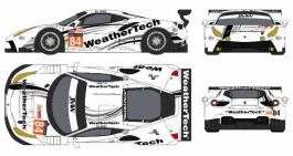 Exceptional livery and driver line-up for JMW Motorsport's Ferrari destined for Le Mans