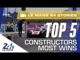 Top 5 manufacturers at the 24 Hours of Le Mans: the stories behind 54 wins (video)