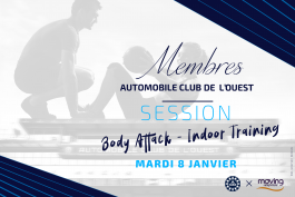 Club ACO - Session sportive de janvier : découverte du body attack et de l'indoor training