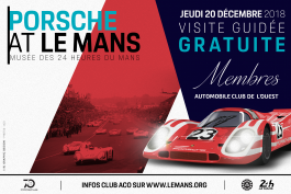 Club ACO - Expo Porsche : une nouvelle session de visite guidée