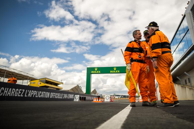 Meet the 2016 24 Hours of Le Mans track marshals!