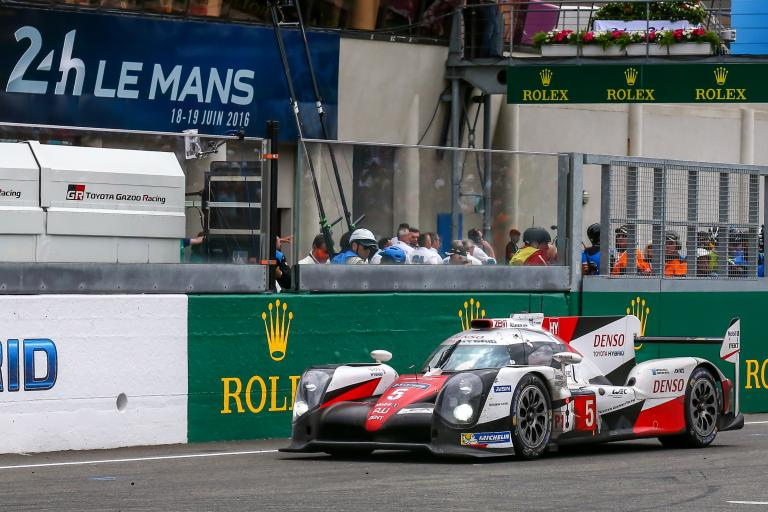 Why wasn't the #5 Toyota classified in the results of the 24 Hours of Le Mans this year?