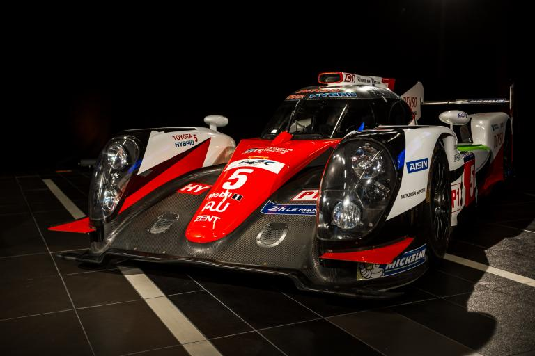 Lmp1 Teams At The 2017 Le Mans 24 Hours Toyota Gazoo Racing 7 8 9