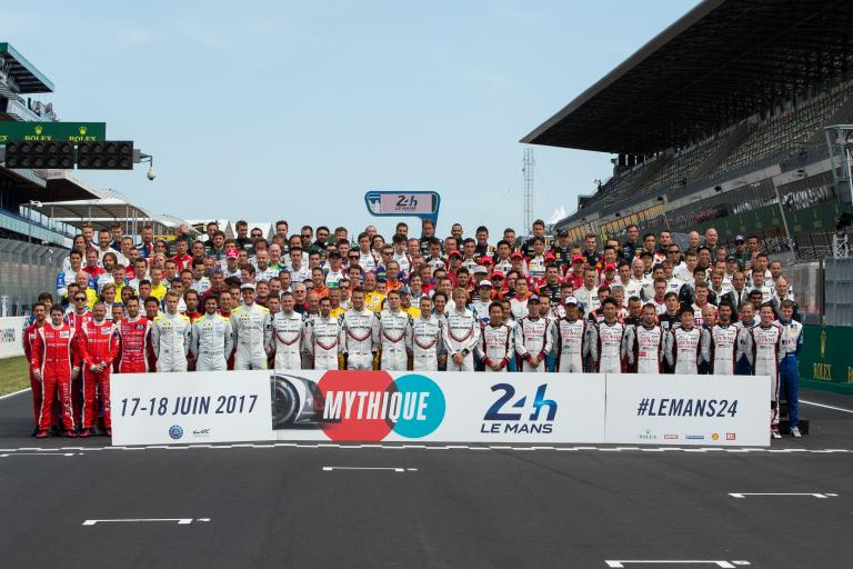 2017 Le Mans 24 Hours The Traditional Family Photo