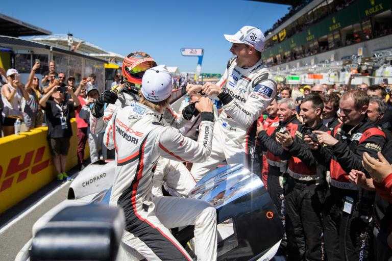 24 Hours of Le Mans - LMP1 winner reactions