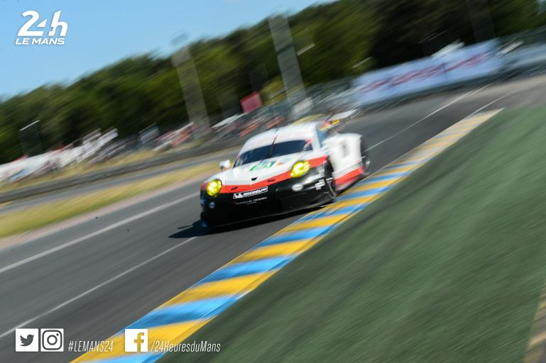 24 Hours of Le Mans - The #94 Porsche 911 RSR en route to Le Mans!