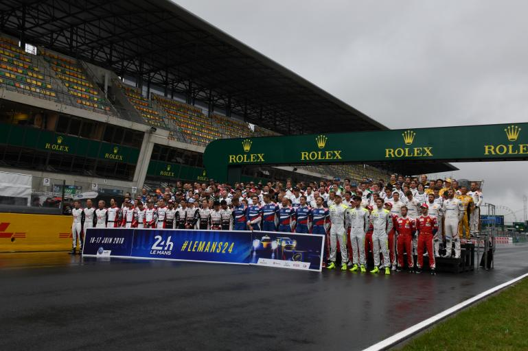 List of drivers on the starting grid at the 86th running of the 24 Hours of Le Mans