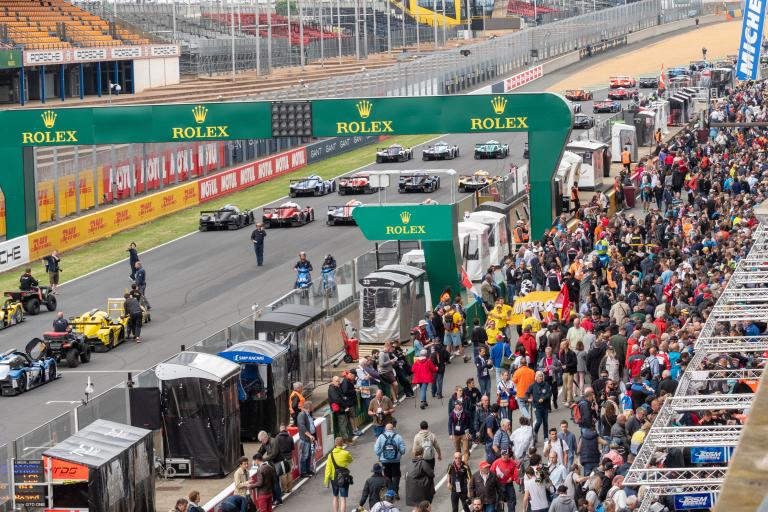 Autographs a hot commodity for fans at the 2018 24 Hours of Le Mans