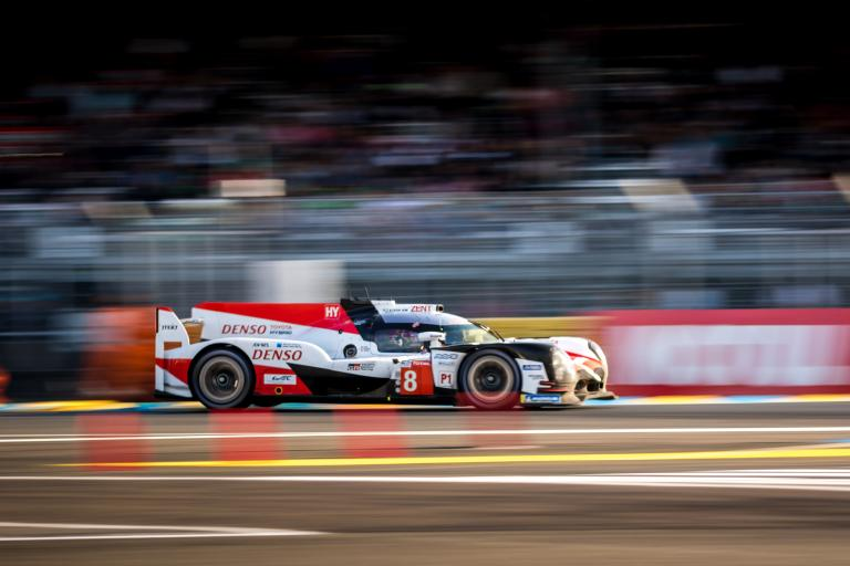 Toyota takes provisional pole position at the 2018 24 Hours of Le Mans