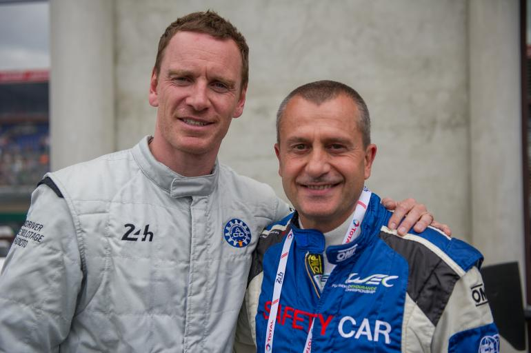 Michael Fassbender can now cross the 24 Hours of Le Mans off his bucket list!