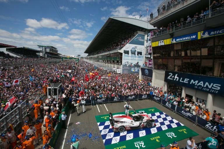 24 Heures du Mans - Pierre Fillon en direct au Mondial Tech, à Paris