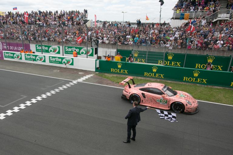 Porsche celebrates its two wins at the 2018 24 Hours of Le Mans (video)