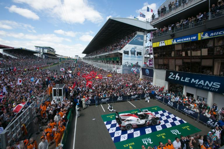 Toyota's president pays a visit to the winner of the 2018 24 Hours of Le Mans