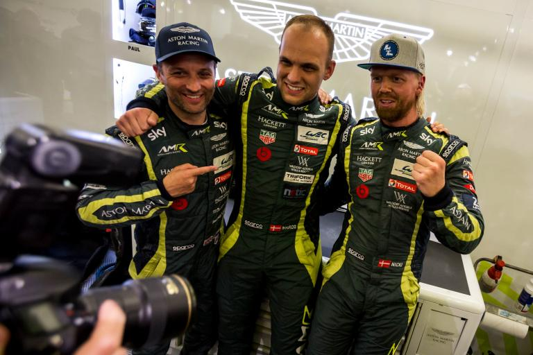 24 Hours of Le Mans –  LMGTE Pro poleman reactions
