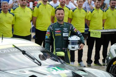 "Darren Turner: Aston Martin driver at Le Mans and ""marathon man"" for a good cause"