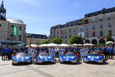 Ford will settle for second place in LMGTE Pro at the 24 Hours of Le Mans (video)