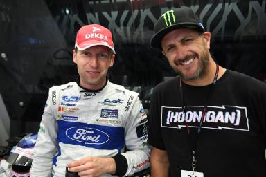 "Stefan Mücke (Ford): ""To finish on the podium [at Le Mans] is an amazing feeling."""