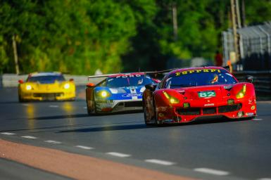 What Toni Vilander (Ferrari) likes best about the 24 Hours of Le Mans