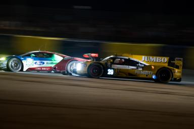 Out of the darkness and into the light... night driving at the 24 Hours of Le Mans