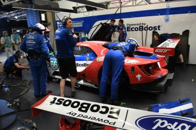 #66 FORD CHIP GANASSI TEAM UK (USA) Category : LM GTE Pro Cars : FORD GT Tyres : MICHELIN Drivers : Stefan MÜCKE (DEU) Olivier PLA (FRA) Billy JOHNSON (USA)
