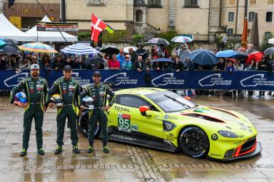 The #95 Aston Martin good as new for the 24 Hours of Le Mans