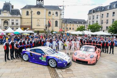 Porsche to field four 911 RSRs at the 2019 24 Hours of Le Mans