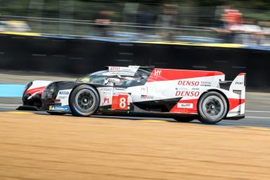 Account of the first track action at Le Mans on Wednesday 13 June