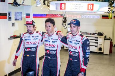 "Pole position at Le Mans - Kazuki Nakajima (#8 Toyota): ""[This was] 1% of the work!"""